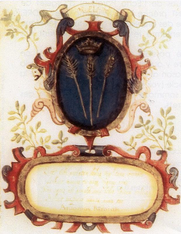 Armoiries d'Orgelet accordées par Charles Quint